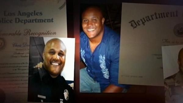 Mountain hunt for ex-LAPD cop enters 4th day