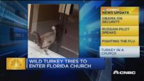 CNBC update: Turkey in a church