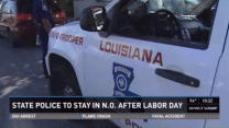 LSP Troopers to stay in New Orleans past Labor Day deadline