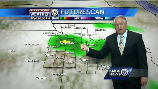 Rain possible later today