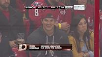 Ryan Kerrigan attends Canadiens-Capitals game