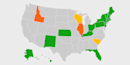 Map: State-by-state breakdown of coronavirus travel restrictions