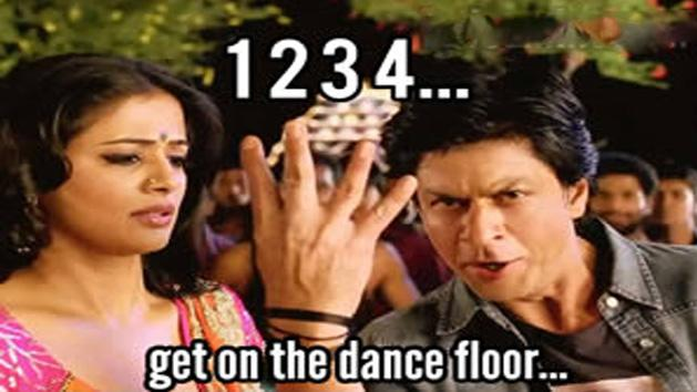 Review :Shahrukh Khan, Priyamani's item song 1 2 3 4... Get on the Dance Floor