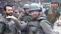 Raw: 'Syrian Soliders' Dance to Usher