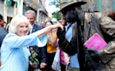 Duchess of Cornwall reveals excitement over new royal baby during Havana walkabout with Prince Charles