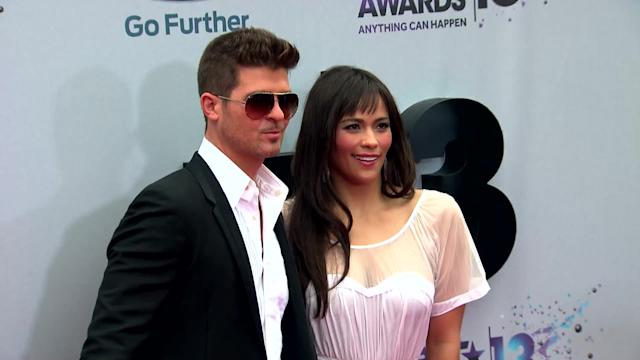 Robin Thicke Hasn't Seen His Wife in Four Months