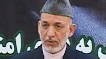 Afghan President Karzai Suspends Talks With US