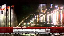 Heavy Flooding From Overnight Rain Turns Roads Into Rivers
