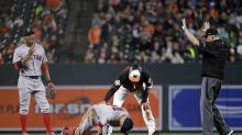 Red Sox upset after Manny Machado slide shakes up Dustin Pedroia