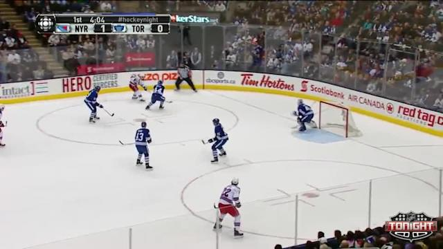 NY Rangers Rangers at Toronto Maple Leafs - 01/04/2014