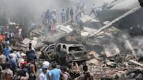 Indonesia Military Plane Crashes, Killing at Least 37