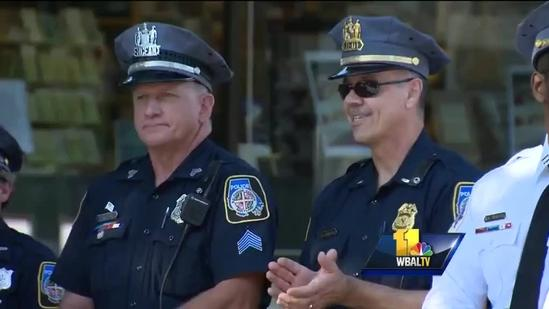 Towson Area Citizens On Patrol members honored