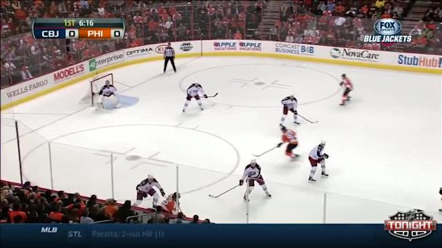 Columbus Blue Jackets at Philadelphia Flyers - 04/03/2014