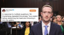 Mark Zuckerberg's Senate Testimony Predictably Led To Memes Galore