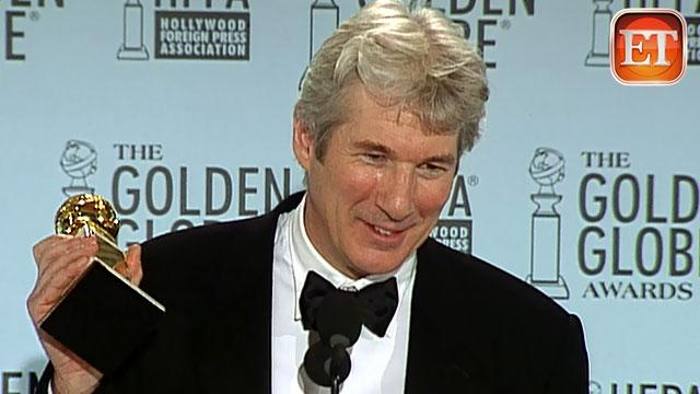 Globes Flashback '03: Richard Gere's Tap Dance