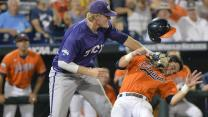 2014 CWS - TCU Battles 15 Innings
