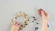 DIY An Edgy, Pearl Statement Necklace