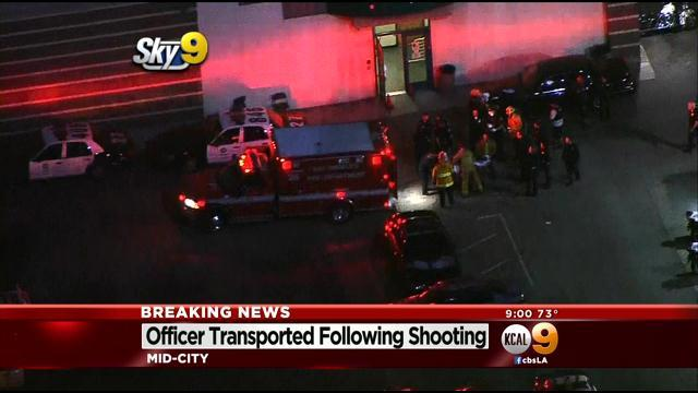 Officer Shot After Man Opens Fire In Lobby Of LAPD's West Traffic Division
