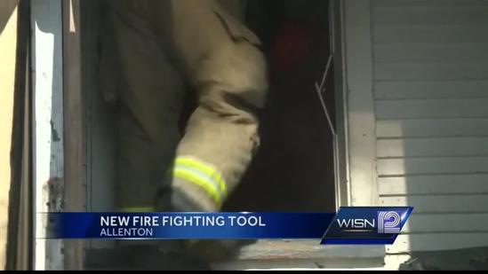 Allenton firefighters test new tool