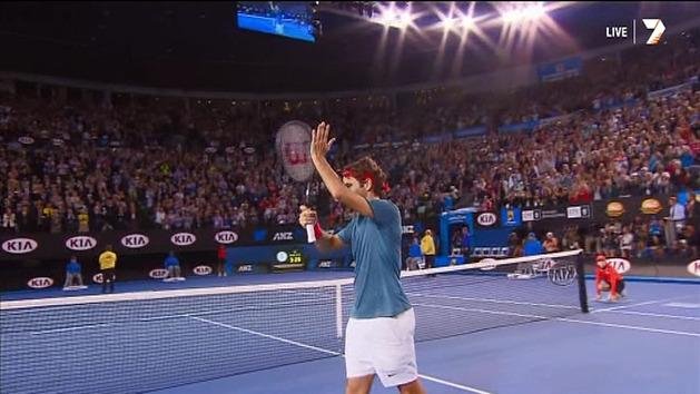 Highlights: Federer v Murray