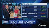 Big day for IPOs
