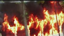 VIDEO: Man rescues neighbor, baby from fire