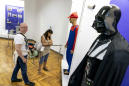 Ahead of vote, Ukrainian museum shows 'election trash'