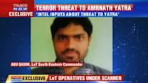 Terror threat to Amarnath Yatra