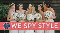We Spy: Themed Weddings and Matching Bridesmaids - Yes or No?