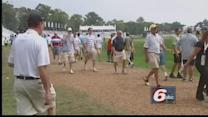Golf Fans Dodge Storms In Carmel