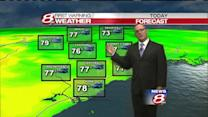 Matt's Monday afternoon forecast