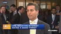 Are negative rates a good thing?
