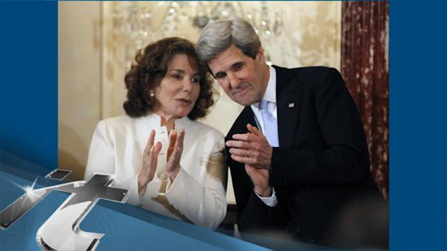 America Breaking News: Wife of Secretary of State Kerry Condition Upgraded to Fair