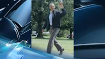 "Breaking News Headlines: Barack Obama Celebrates 52nd Birthday, Proves He's ""Still Got It"""