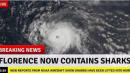 Hoaxes Run Amok On Social Media As Hurricane Florence Moves Inland