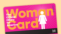 Hillary Clinton's campaign fires back at Trump with actual Woman Card