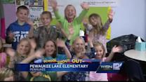 11/26 Shout Out: Miss Cording, Pewaukee Lake Elem.