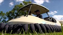 The Amazing Hovering Golf Cart of the Future