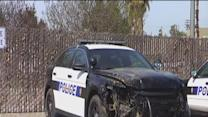 Witness: Patrol car destroyed by officer
