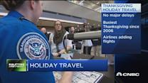 Busiest Thanksgiving travel since 2006