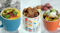 Microwaveable Breakfast Mugs as Easy as 1, 2, 3
