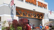 Bank Stocks Dive; Home Depot, Select Blue Chips Rise