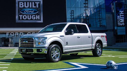 Ford teams up with the Dallas Cowboys on limited-edition F-150