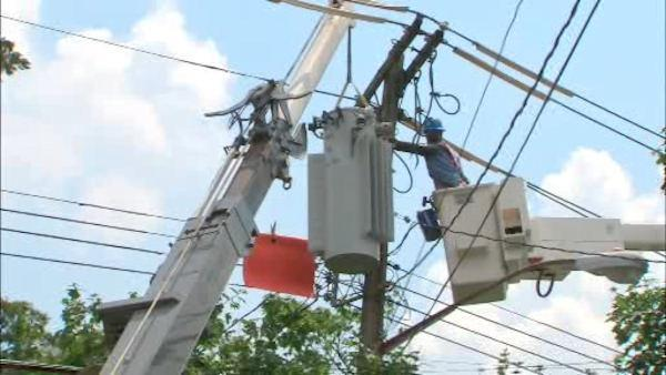 Power usage hits new highs as temperature soars