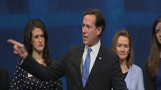 Rick Santorum's Full Speech at CPAC 2012