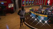 Shaq Runs Around the Desk