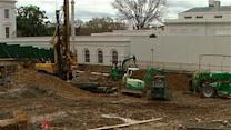 White House Big Dig ending, West Wing re-emerges