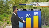 Monday's Forecast: Cool start to the workweek