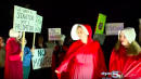 Alabama Women Protest Roy Moore By Dressing As Handmaids