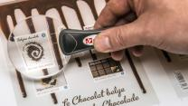 Belgium Chocolate Stamps Offer Lick With a Kick
